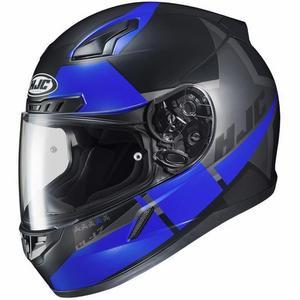 HJC CL-17 Boost Helmet Semi-Flat Blue (MC-2SF) (Blue, X-Large)