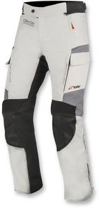 Alpinestars Adult Motorcycle Waterproof Pants Andes V2 Grey/Black XL
