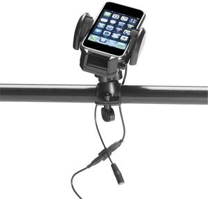 Echo 06-660 Plug & Go Handlebar Phone Holder and Charger