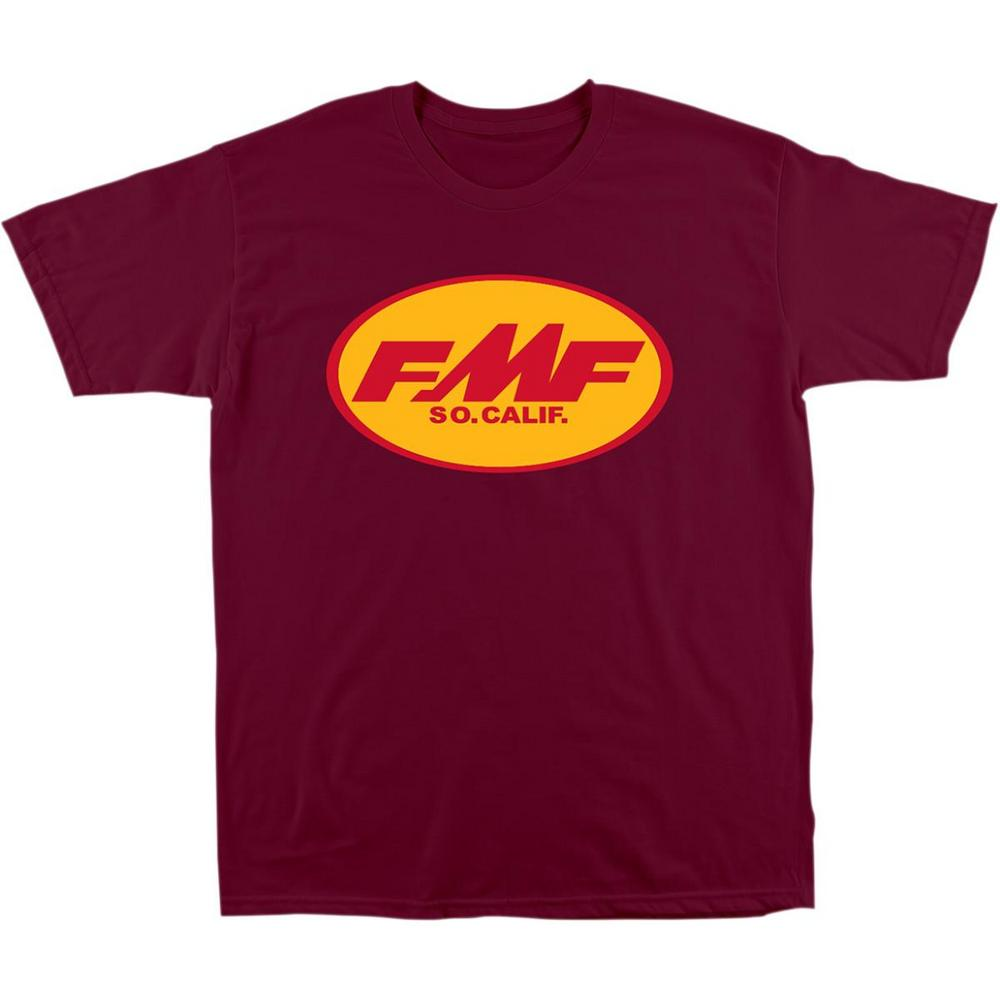 FMF Racing Original Don T-Shirt Burgundy (Red, X-Large)