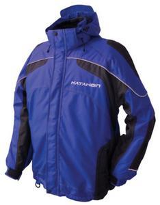 Katahdin Tron Jacket (Blue, Large)