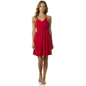 Fox Finish Line Womens Dress Bright Red (Red, X-Large)