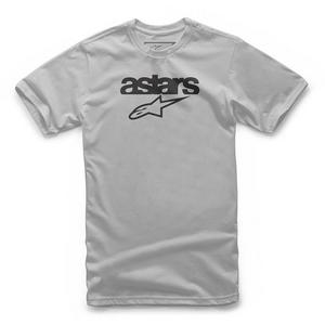 Alpinestars Heritage Blaze T-Shirt (Silver, Small)