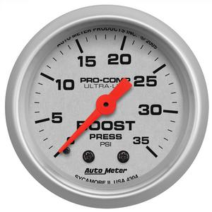 AutoMeter 4304 Ultra-Lite Mechanical Boost Gauge