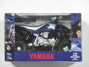 New Ray Toys 1:12 Scale Yamaha 2008 YFZ 450 Blue 42837