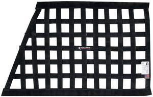 Allstar Performance Window Net 1 In Webbing Trapezoid Black P/N 10288