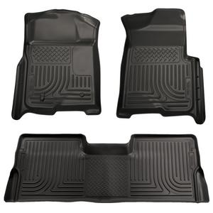 Husky Liners Front & 2nd Seat Floor Liners (Footwell Coverage)