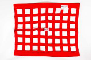 RJS SAFETY 18 x 24 in Rectangle Red Window Net P/N 10000404