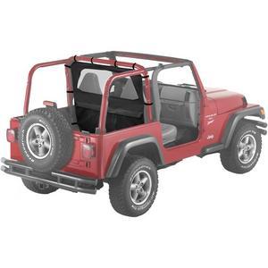 Bestop WrapAround WindJammer 03-06 Jeep Wrangler TJ LJ Black Diamond 80035-35
