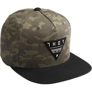 Thor Limiter Snapback Hat Camo (Green, OSFM)