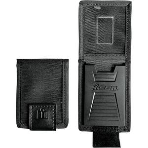 Icon 3070-0750 Military Spec Replacement Badge Holder - Black