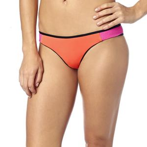 Fox Capture Womens Skimpy Bottom Flo Orange (Orange, Large)