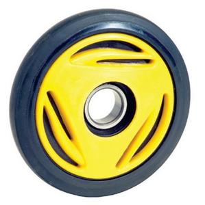 PPD Group 04-116-86Y Idler Wheel - 165mm x 25mm - Yellow