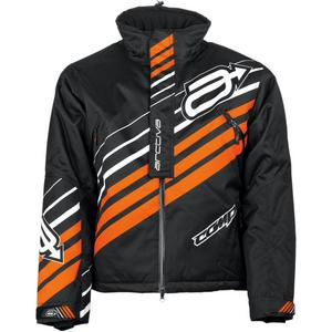Arctiva Comp Insulated Womens Jacket Black/Orange (Black, XX-Large)
