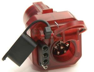 Hopkins Towing Solutions 47585 Multi-Tow Adapter-7 to 6 and 4 with Nite-Glow