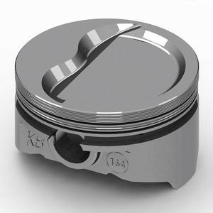 KB PERFORMANCE PISTONS 4.030 in Bore Small Block Chevy Piston 8 pc P/N KB164.030