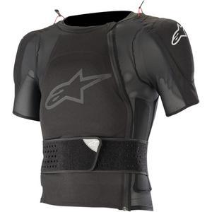 Alpinestars Sequence Short-Sleeve Jacket Short-Sleeve (Black, X-Large)