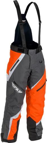 Fly Racing SNX Pro Pants Orange/Gray (Orange, Large)
