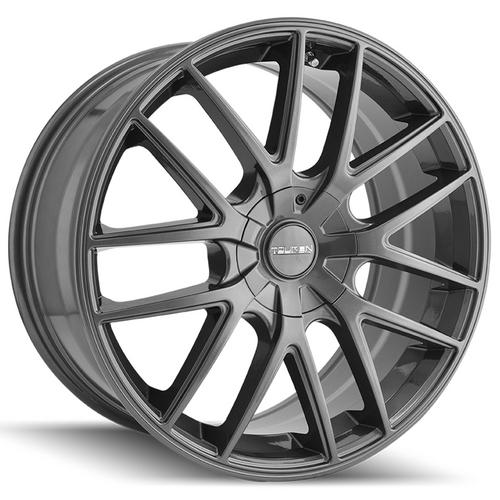 "Touren TR60 18x8 5x100/5x4.5"" +40mm Gunmetal Wheel Rim 18"" Inch"