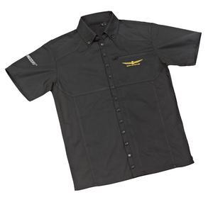 Joe Rocket Goldwing Staff Shirt Black/Black (Black, Small)