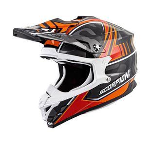Scorpion EXO VX-35 Offroad Helmet Miramar Orange Adult Size 2XL
