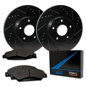 2005 2006 For Mazda MPV Coated Front /& Rear Brake Rotors /& Pads