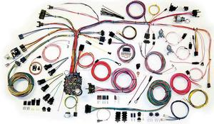 American Autowire Wiring System Camaro 1967-68 Kit P/N 500661