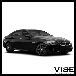 "20"" TSW AMAROO BLACK CONCAVE WHEELS RIMS FITS BMW E60 525 528 530 535 545 550"