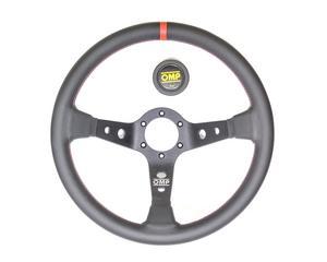 OMP Racing 350 mm Diameter 3-Spoke Corsica Steering Wheel P/N OD1956NR