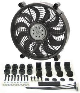 DERALE 12 in 1450 CFM HO RAD Electric Cooling Fan P/N 16212