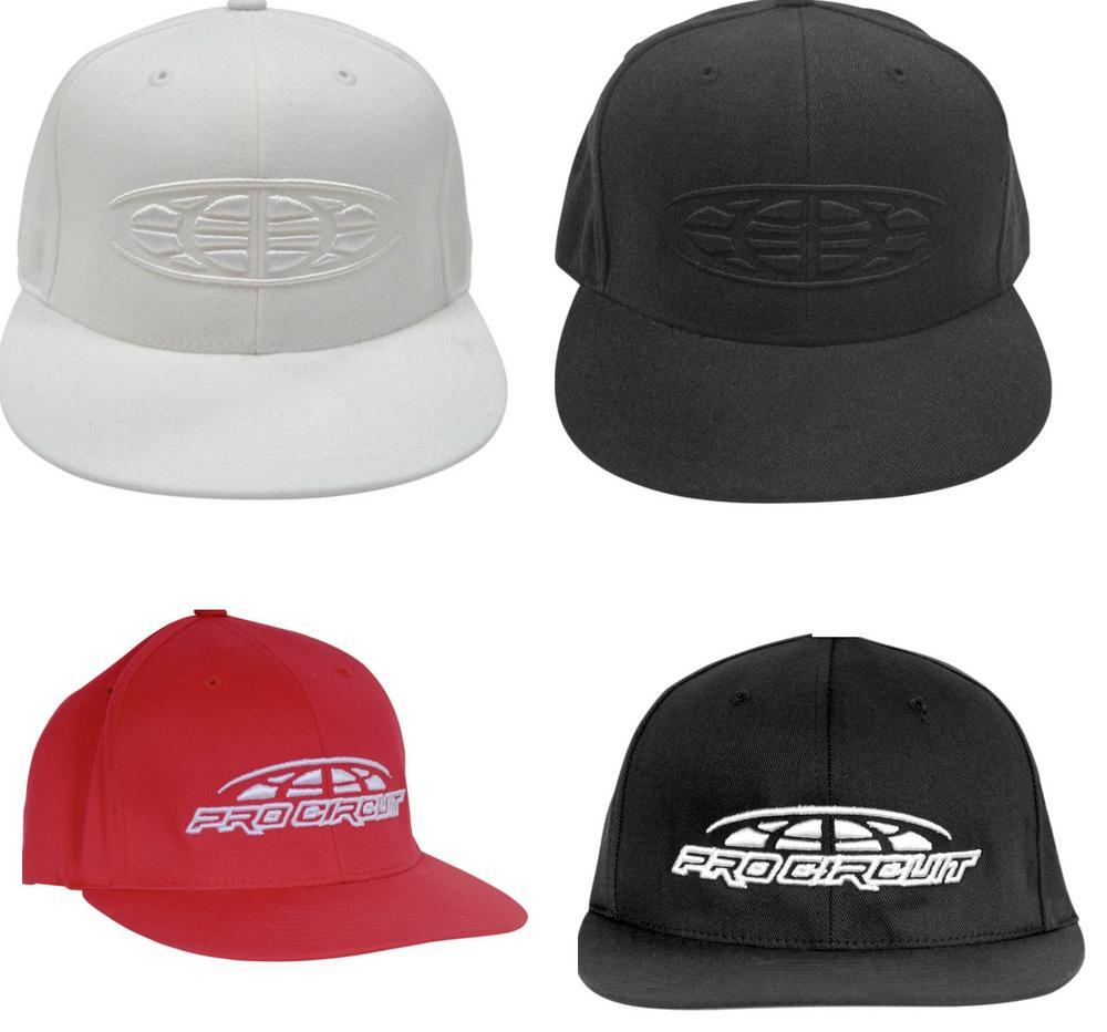 Pro Circuit Racing Adult Zero FlexFit Grey Hat S/M