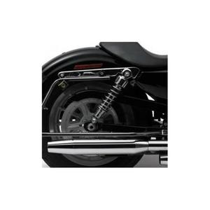 Cycle Visions CV7405B Bagger-Tail Kit for Dyna - Black Bag Mounts