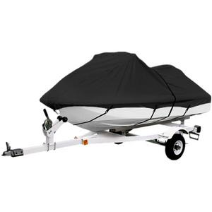 "Black Trailerable PWC Personal Watercraft Cover Covers Fits 2-3 Seat Or 139""-145"" Length Waverunner, Sea Doo, Jet Ski, Polaris, Yamaha, Kawasaki Covers"