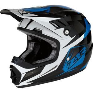 Z1R Rise Ascend Youth Helmet (Blue, Small)