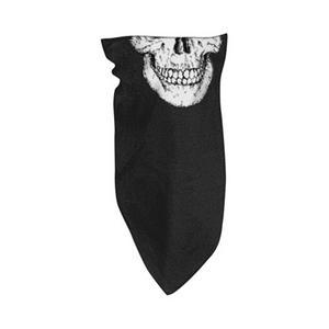 Zan Headgear 3-in-1 Headband - Fleece Lined Skull (Black, OSFM)