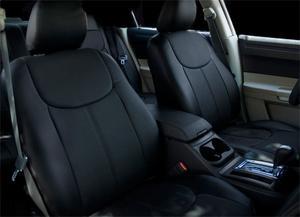 Steelcraft GMC7511BK Leather Seat Skinz
