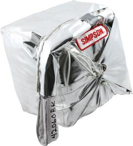 SIMPSON SAFETY Black 12 ft Cross Form Drag Parachute P/N 42060BK