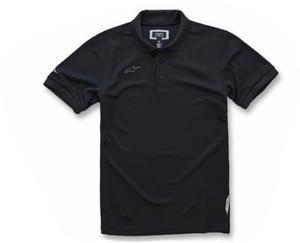 Alpinestars Vortex Polo Shirt (Black, XX-Large)