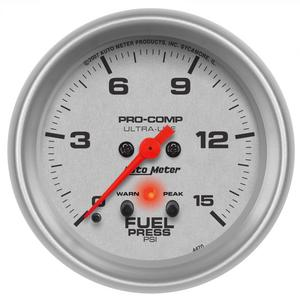 AutoMeter 4470 Ultra-Lite Electric Fuel Pressure Gauge