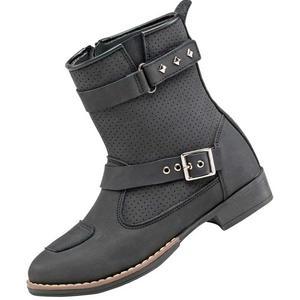 Joe Rocket Moto Adira Motorcycle Boots Black Womens Size 6