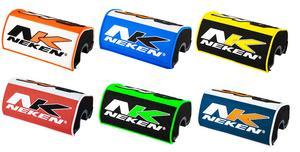 "Neken Variable MX ATV Bar Pad For Fat Handlebars 1 1/8"" Barpad Orange/White"