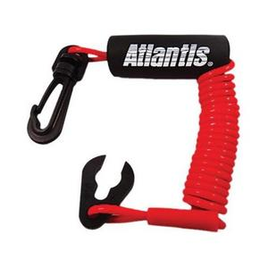 Atlantis A7453DP Performance Floating Lanyards - Red - Sea Doo D.E.S.S.