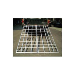 Automatic Distributors AR01XW48 6ft. Aluminum Bi-Fold Ramp