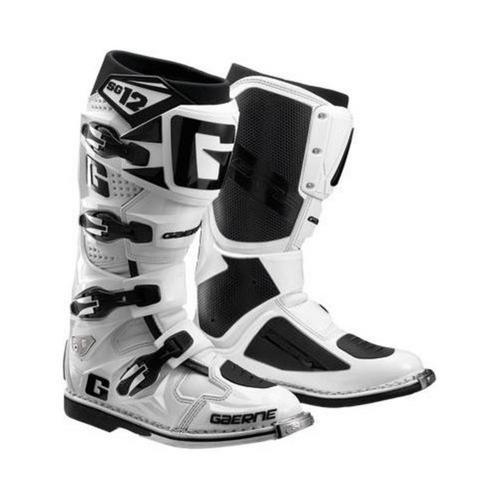 Gaerne SG-12 Boots (White, 7)