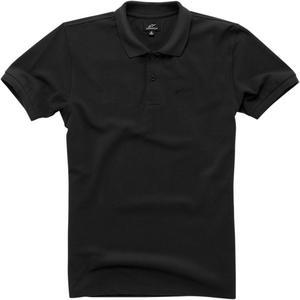 Alpinestars Adult T-Shirt Effortless Black Polo Shirt M