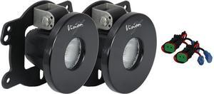 Vision X Lighting 9120911 Fog Light Mounting Kit Fits 07-11 Wrangler (JK)