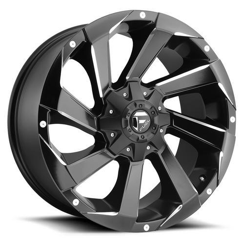 """Fuel D592 Razor 17x9 6x135/6x5.5"""" -12mm Black/Milled Wheel Rim 17"""" Inch"""