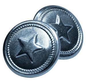 Shoei 03-869 Replacement Star Buttons with Posts in Silver