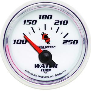AutoMeter 7137 C2 Electric Water Temperature Gauge