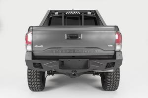 Fab Fours TT16-E3651-B Vengeance Rear Bumper Fits 16-18 Tacoma